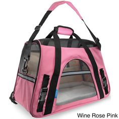 Oxgord Large Pet Carrier Soft-sided Cat/ Dog Comfort Travel Tote for Pets Up to 22 Pounds