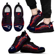 Lovely Stylish Fabulous Little Dots New England Patriots Sneakers 6d9ec0b03684