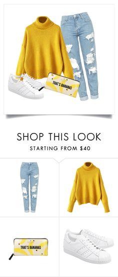 """Sans titre #50"" by minii92 on Polyvore featuring mode, Topshop, Kate Spade et adidas Originals"