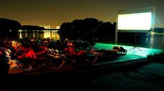 Amsterdam's open-air film festival Pluk de Nacht (Seize the Night) annually brings a round of free outdoor cinema to Amsterdam's waterside in August.
