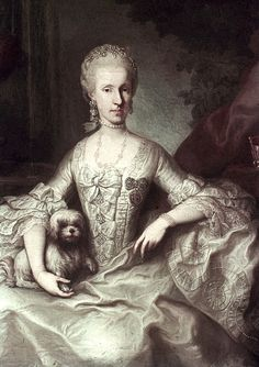 1765 Maria Luisa by Martin van Meytens (Hofburg, Innsbruck Austria)   Grand Ladies   gogm