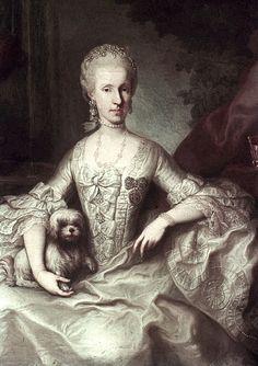 1765 Maria Luisa by Martin van Meytens (Hofburg, Innsbruck Austria) | Grand Ladies | gogm