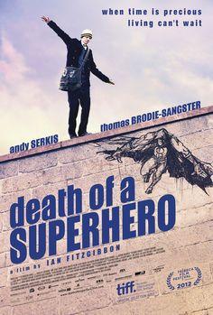 スーパーヒーローの死 - 映画ポスター