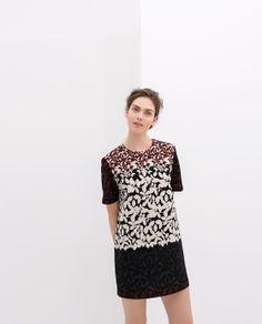 Image 1 of FLOWER PRINT DRESS from Zara
