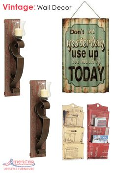 What is your biggest challenge in incorporating rustic and vintage pieces in your home décor?