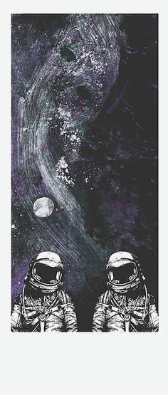 Prima illustrazione di un racconto, sul viaggio di due astronauti che a ritroso nel sistema solare , da Nettuno fino al Sole , troveranno l'unità e la distruzione del proprio ego!
