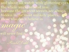 Find the magic!