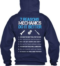 Grab This Mechanic's Hoodie...