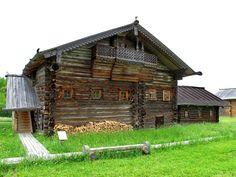 Traditonal wooden architecture, Russia