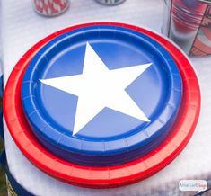 Atta Girl Says   Captain America Party Ideas for Kids (And Adults)   http://www.attagirlsays.com