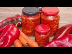 Bakina kuhinja -ajvar sa plavim patlidžanom /chutney eggplant/ - YouTube