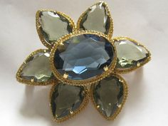 Vtg Chr Dior Brooch 225x2 signed dated 1961 and by JewelryCapers, $225.00