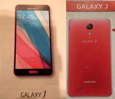 Samsung Galaxy J para Japón, filtrado