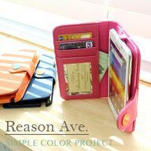 Happymori Reason Ave. Color Button Leather Flip Cover - 50% SALEHappyMori specializes in quality cell phone cases designed at the design studio in South Korea. You