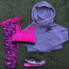Nike 'Rally' Funnel Neck Hoodie