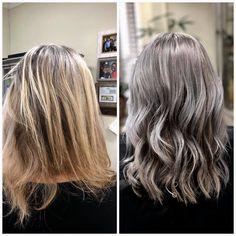 These 6 Holistic Hair Stylists are Helping Women Embrace Their Grey Hair Grey Brown Hair, Grey Blonde Hair, Long Gray Hair, Lilac Hair, Pastel Hair, Green Hair, Blue Hair, White Hair, Silver Hair Highlights