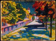 aleyma: Vassily Kandinsky, Autumn in Bavaria, 1908 (source).
