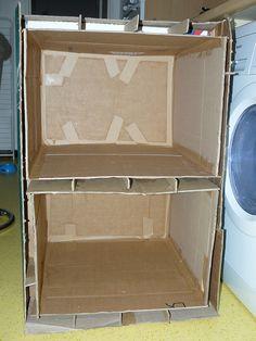 If we were ever desperate enough to make cardboard furniture...