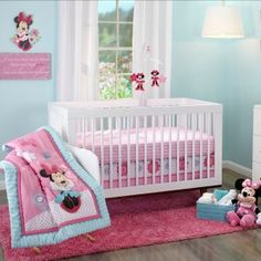 Minnie Mouse Baby Bedding