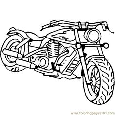 american chopper coloring page free printable coloring pages - Coloring Pages Free To Print