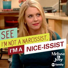 Good one! | Melissa & Joey Quotes