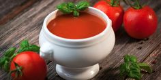 Slow Cooker Paleo Fire-Roasted Tomato Soup - Get Crocked Slow Cooker Recipes from Jenn Bare for Busy Families Slow Cooking, Cooks Slow Cooker, Slow Cooker Soup, Slow Cooker Recipes, Paleo Recipes, Crockpot Recipes, Roasted Tomato Soup, Fire Roasted Tomatoes, Recipe Using Tomatoes