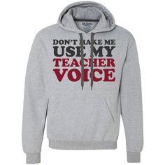 Teacher Voice - Gildan Heavyweight Fleece Sweatshirt