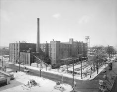 The old B.F. Goodrich tire plant, on the corner of King Street and Victoria in Kitchener, now long gone.