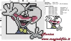 Diddl free pattern (50x45) by Monica