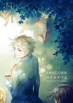 Pandora Hearts | Elliot Nightray; Leo Baskerville; Oz Vessalius