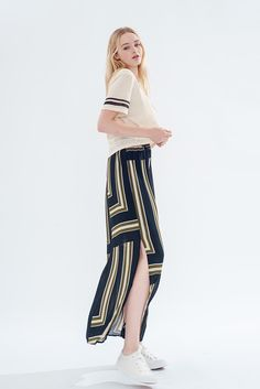 Cool Blue Skirt - misspatina.com