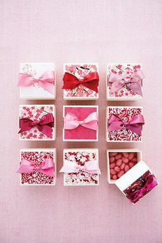 Cute, quirky, sweet and stylish wedding reception table favour ideas from Brides Magazine (BridesMagazine.co.uk)
