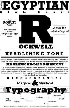 Slab-Serif/Egyptian Type Design, Logo Design, Graphic Design, Slab Serif, Type Posters, Typography Poster, Lettering Design, Google, Stress