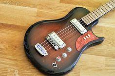 Ural 510L Soviet USSR Russian Legend Electric Les Paul Bass Guitar VINTAGE RARE