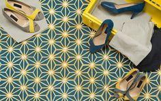 Bahya – Safi in Aqua Tangerine Slate 9 Mini Loft, Turbulence Deco, Pretty Room, Floor Patterns, Minimalist Bathroom, New Details, Black House, Wall Tiles, Wall Design