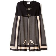 Alice by Temperley Black Riviera Cape  - maybe not in pink