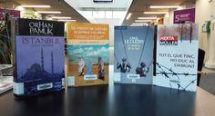 -NOBEL- Del 19 al 25 d'octubre a la BCUM:  Le Clézio, J.-M.G., Torcal, A. i Company, S. La Música de la fam. http://cataleg.upc.edu/record=b1349582~S1*cat  Lessing, D. El Viento se llevará nuestras palabras. http://cataleg.upc.edu/record=b1213478~S1*cat  Müller, H. i Fontcuberta i Gel, J. Tot el que tinc, ho duc al damunt. http://cataleg.upc.edu/record=b1373601~S1*cat  Pamuk, O. Istanbul: ciutat i records. http://cataleg.upc.edu/record=b1310643~S1*cat