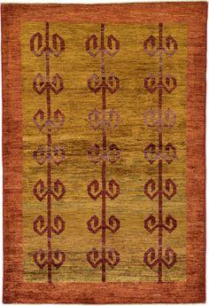 Brown 3 4 X 10 Modern Ziegler Rug Oriental Rugs Irugs Conservatory Ideasoriental