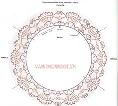 Best 11 from Asahi Original Crochet Lace Cafe 2014 – SkillOfKing. Col Crochet, Crochet Lace Collar, Crochet Motifs, Crochet Borders, Crochet Chart, Crochet Home, Crochet Doilies, Crochet Gratis, Crochet Christmas Ornaments