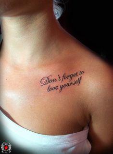Cute Quote Tattoo by Robert-Greg-Voulgari
