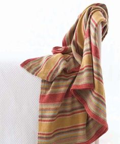 Wyatt Woven Cotton Throw - 60
