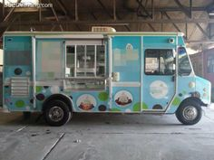 frozen yogurt vans
