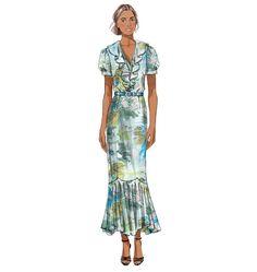 B5879 | Misses' Dress and Sash | Dresses | Butterick Patterns