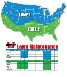 Lawn care calendar www.lushecolawns.com | For the Home | Pinterest ...