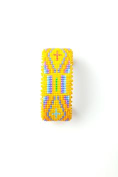 Handbeaded Navajo Cuff by Etkie on Etsy, $78.00