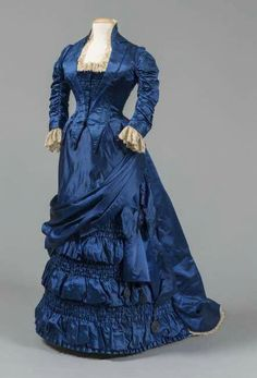 1880's Gown that was worn by Lucretia Garfield, First Lady of the United States, Wife of 20th President James A. Garfield