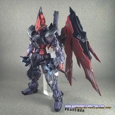 Custom Build: MG 1/100 Astray Noir D - Gundam Kits Collection News and Reviews