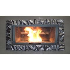 Frame design WROUGHT IRON for fireplace with or without LED. Customize creations. 400 Led, Wrought Iron, Articles, Frame, Design, Home Decor, Picture Frame, Decoration Home, Room Decor