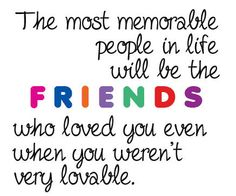 Perfect quote for our frienship (at Times) ;)