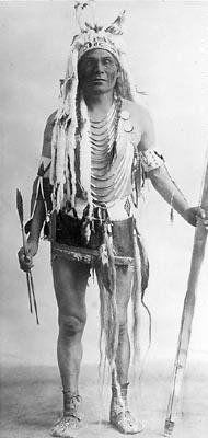 Mark Poucette - Assiniboine - circa 1900